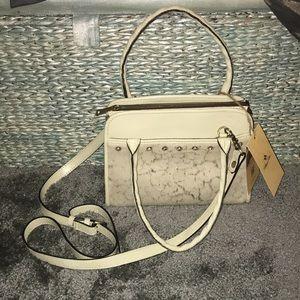 Patricia Nash Metallic Haircalf Collection purse